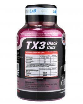TX3 Black Cuts GENTECH (60 Caps)