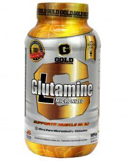 Glutamina GOLD NUTRITION (225 Grs)