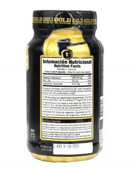 ZMA GOLD NUTRITION (60 Caps)
