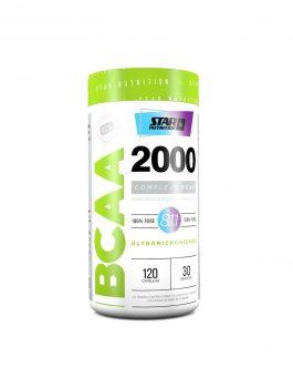 BCAA 2000 STAR NUTRITION (120 Caps)