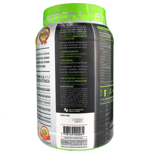 STAR NUTRITION MUSCLE STAR LADO 4