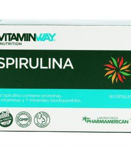 Spirulina VITAMIN WAY (60 Caps)
