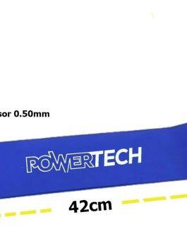 POWERTECH Kit de 5 Bandas TPE Circular Ancha Intensidad (30/40/50/60/70 MM)