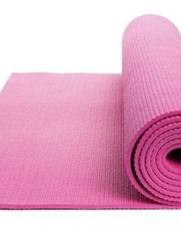 Colchoneta Mat de Yoga Fitness Pilates (3/4 MM)
