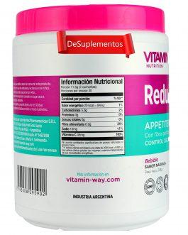 ReduFIBER Appetite Control (348 Grs) Naranja – VITAMIN WAY