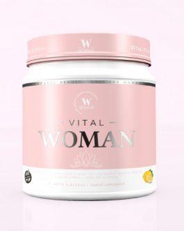 WOMAN Vital Colageno con Ácido Hialurónico (454 Grs) Limonada