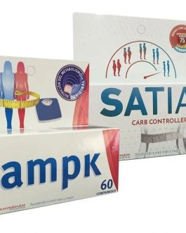 COMBO FRAMINGHAM : Ampk 60 comprimidos + Satial Carb 60 comprimidos