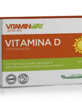 Vitamina D con Magnesio (30 Caps) VITAMIN WAY