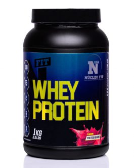 Whey Protein (1000 Grs) NUCLEO FIT – Frutos Rojos
