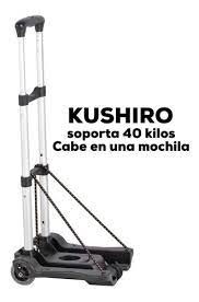 Carrito Plegable de aluminio Carro 40Kg