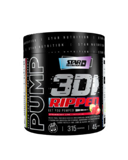 Pump 3D Ripped STAR NUTRITION (315 Grs)